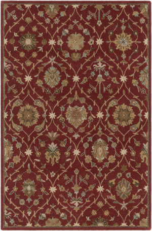 Surya Middleton Alexandra Red Area Rug