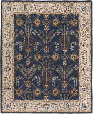Surya Middleton Kelly Navy - Beige Area Rug