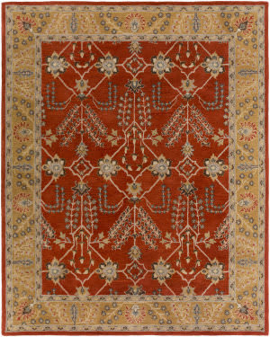 Surya Middleton Kelly Rust - Gold Area Rug