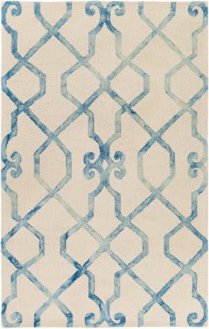 Surya Organic Amanda Ivory - Blue Area Rug