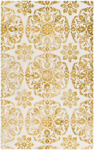 Surya Organic Danielle Yellow - Off-White Area Rug