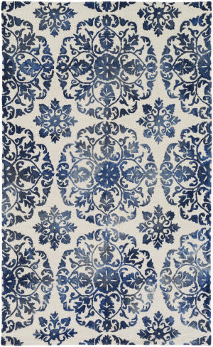 Surya Organic Danielle Blue - Off-White Area Rug