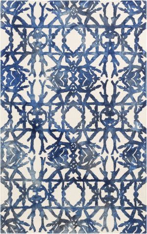 Surya Organic Avery Navy - Off-White Area Rug