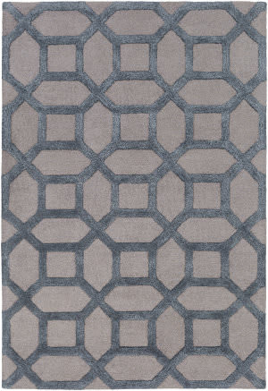 Surya Arise Evie Light Gray - Blue Area Rug