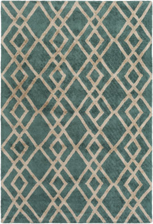 Surya Silk Valley Lila Green - Beige Area Rug
