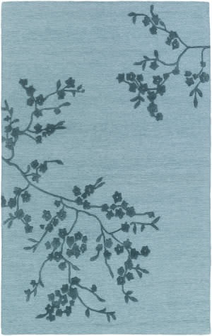 Surya Alexander Smith Light Blue - Navy Area Rug