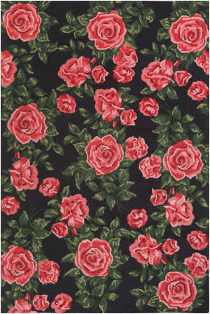 Surya Botany Quinn Red Area Rug