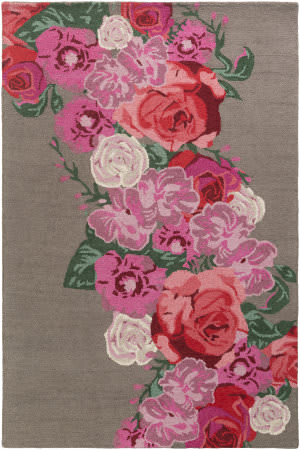 Surya Botany Emilia Bot2487 Multi-Colored Pink Area Rug