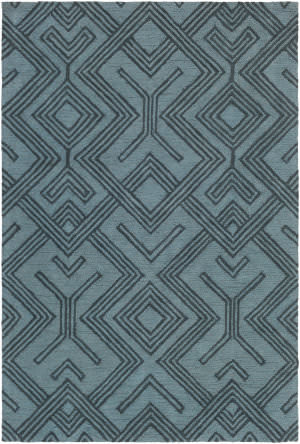 Surya Congo Hill Light Blue - Navy Area Rug