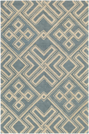 Surya Congo Hayden Light Blue - Beige Area Rug