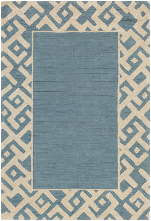 Surya Congo Carson Light Blue - Beige Area Rug