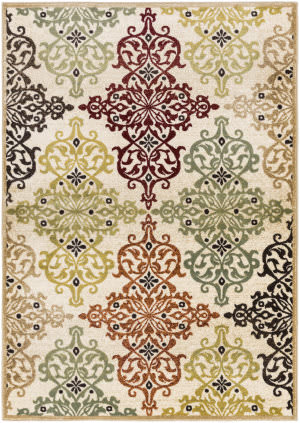Surya Crete Elise Cre6098 Multi-Colored - Green Area Rug