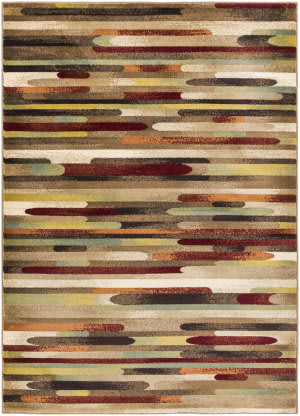 Surya Crete Jade Multi-Colored - Red Area Rug