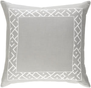 Surya Ethiopia Pillow Rwanda Etpa7221 Light Gray