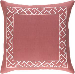 Surya Ethiopia Pillow Rwanda Etpa7223 Terra Cotta