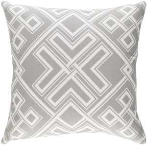 Surya Ethiopia Pillow Togo Etpa7230 Light Gray