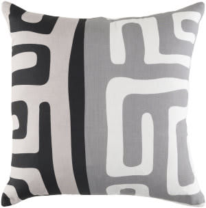 Surya Ethiopia Pillow Morocco Etpa7242 Light Gray