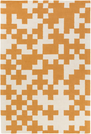 Surya Hilda Beatrix Orange - White Area Rug