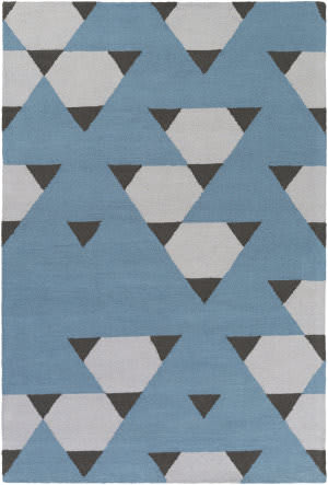 Surya Hilda Brigitte Blue - Gray - Black Area Rug