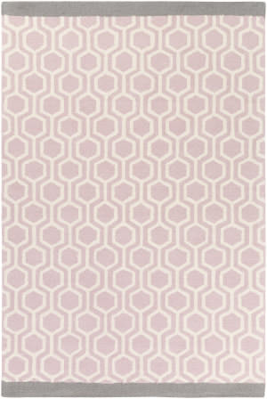 Surya Hilda Eva Light Pink - Gray Area Rug