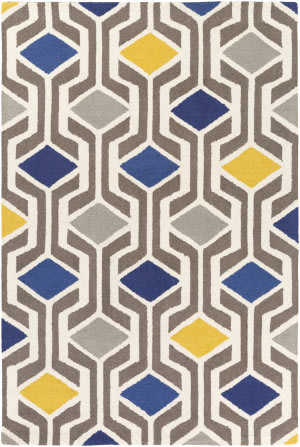 Surya Hilda Gisele Blue - Gray Multi Area Rug