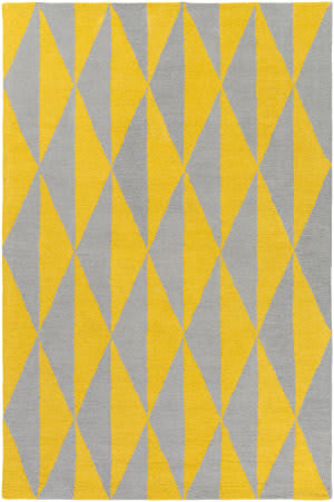 Surya Hilda Sonja Yellow - Gray Area Rug