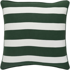 Surya Holiday Pillow Jolly Holi7259 Forest Green