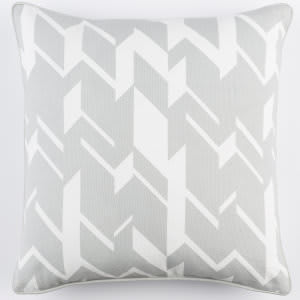 Surya Inga Pillow Josefine Gray - White