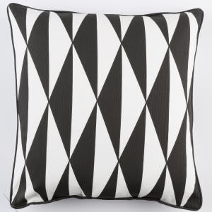 Surya Inga Pillow Clara Black - White