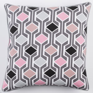 Surya Inga Pillow Greta Pink Multi