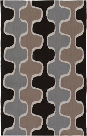 Surya Joan Clermont Black - Gray - Taupe Area Rug