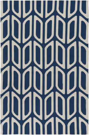 Surya Joan Wellesley Navy Blue Area Rug