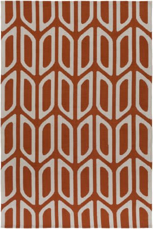 Surya Joan Wellesley Orange Area Rug