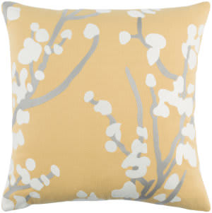 Surya Kingdom Pillow Anna Yellow - Gray - White
