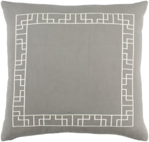 Surya Kingdom Pillow Rachel Gray - White