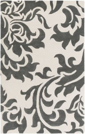 Surya Lounge Heidi Dark Grey - Off-White Area Rug
