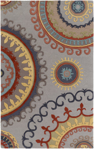 Surya Lounge Alanna Grey - Multi Area Rug