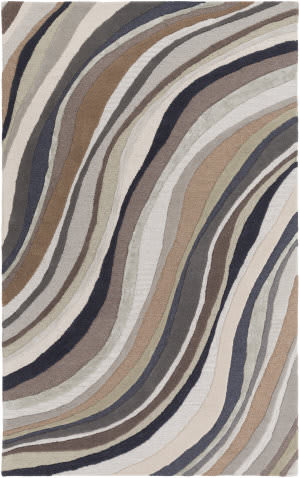 Surya Lounge Carmen Brown - Grey Area Rug