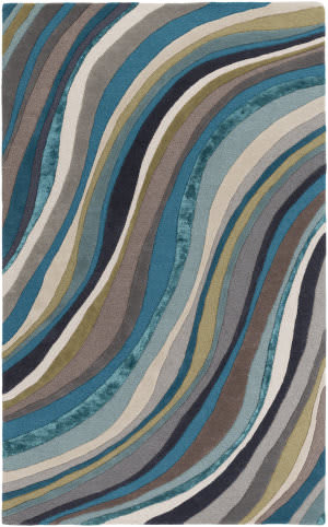 Surya Lounge Carmen Multi - Teal Area Rug