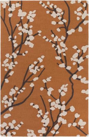 Surya Marigold Caroline Orange - Ivory - Slate Area Rug