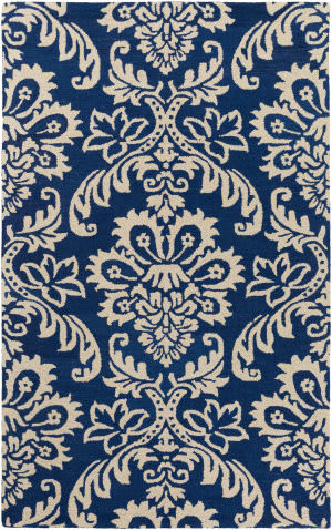Surya Rhodes Luna Navy - Off-White Area Rug