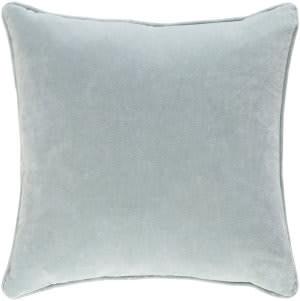 Surya Safflower Pillow Ally Saff7198 Mint