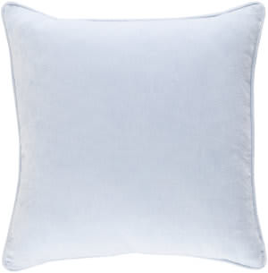 Surya Safflower Pillow Ally Saff7200 Light Blue