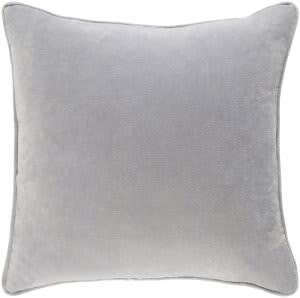 Surya Safflower Pillow Ally Saff7201 Light Gray