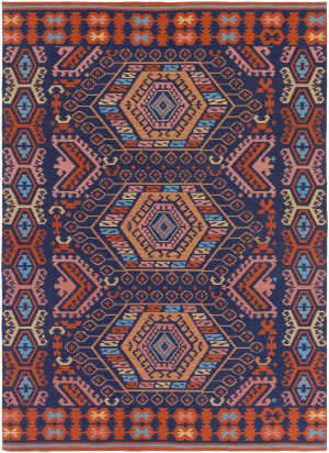 Surya Sajal Cleo Saj1060 Poppy Red Area Rug