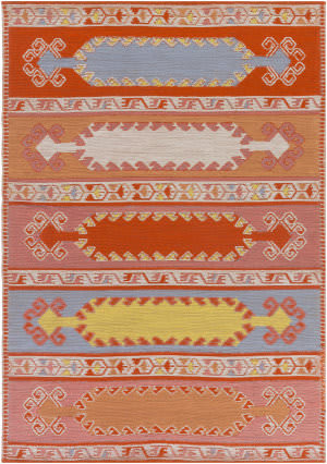 Surya Sajal Muse Saj1064 Poppy Red Area Rug