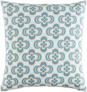 Surya Trudy Pillow Rosa Teal Multi