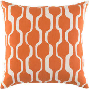 Surya Trudy Pillow Vivienne Trud7188 Bright Orange