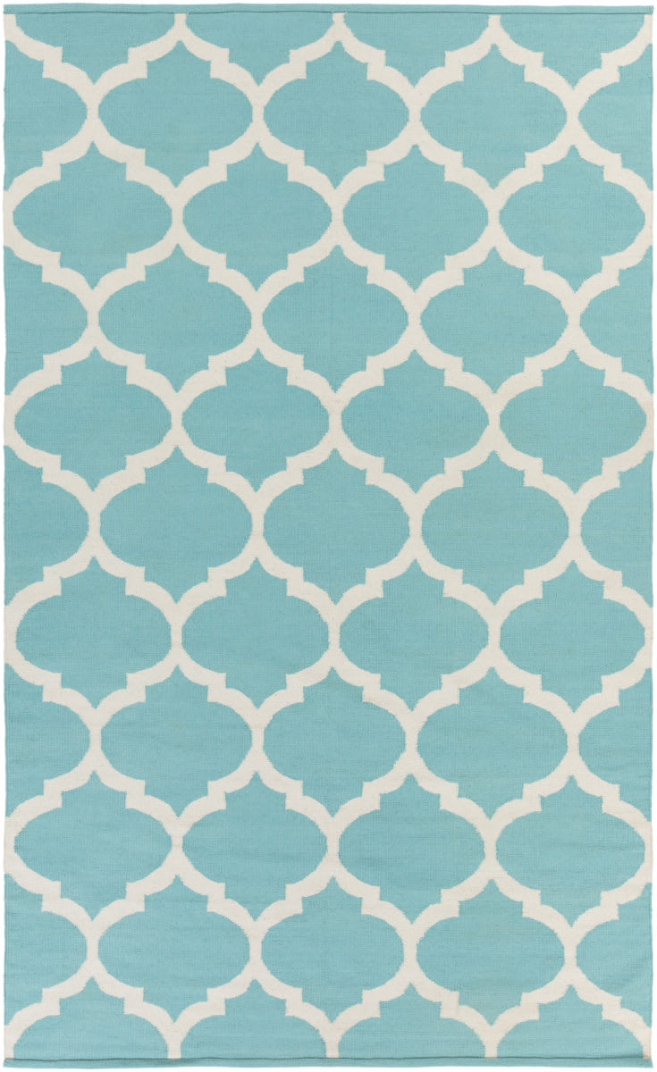 Surya Vogue Everly Teal-White Clearance