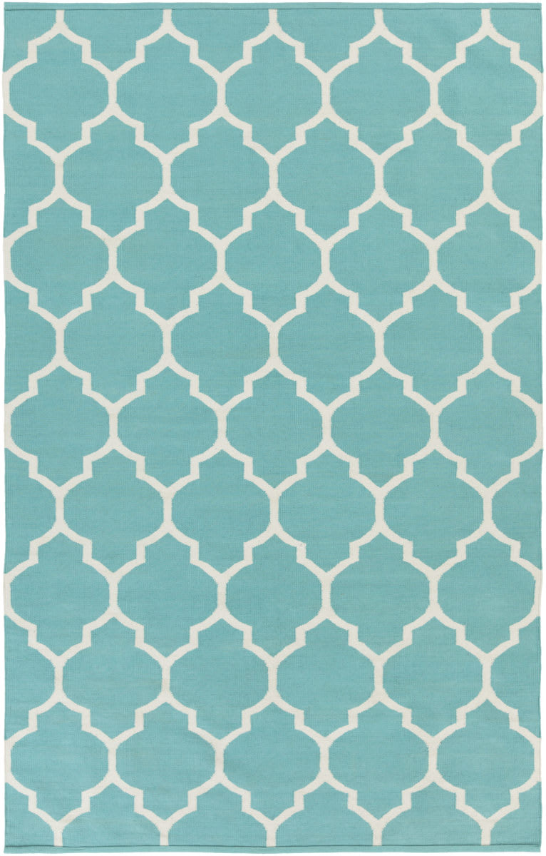 Surya Vogue Claire Teal-White Clearance